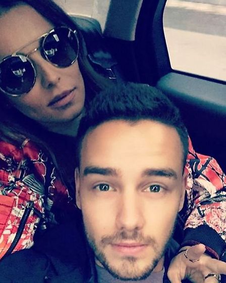 Liam and Cheryl: Apparently Surrey is better than Herts (Instagram - fakeliampayne)