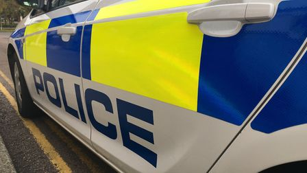 Police reported a man for summons after a crash in St Albans.