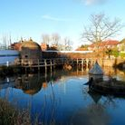 Shenley pond and Lock Up