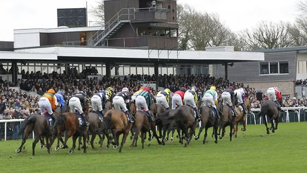 Huntingdon Racecourse, where more than £1 million of prize money will be won in 2018.