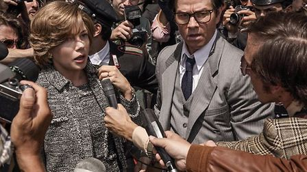 Michelle Williams and Mark Wahlberg star in All the Money in the World
