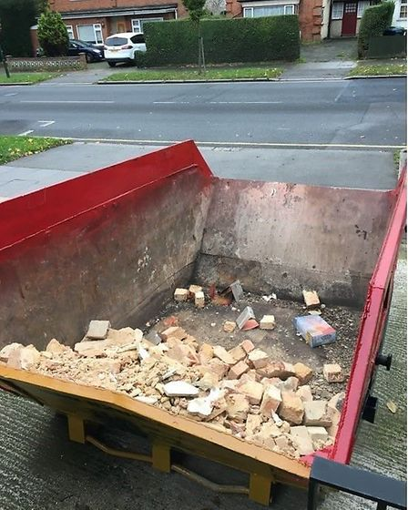 """Treat filling your skip like building a 3D puzzle,"" Richard says (Picture credit: Richard Burr/PA P"