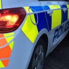 Police were called after the collision on the A10 yesterday evening.