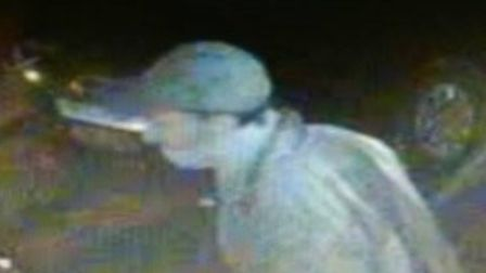 The man police would like to speak to in connection with incidents of arson and robbery in Willingha