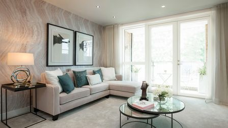 Beaumont Gardens - inside one of the development's 57 apartments