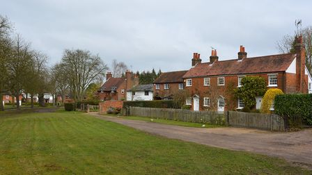 The pretty village of Ayot St Peter, north-west of Welwyn Garden City, is located within the Green B
