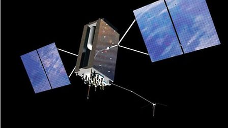 A satellite Spacechips worked on. Photo: Spacechips.