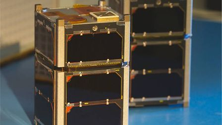 A small satellite Spacechips worked on. Photo: Spacechips.