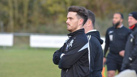 Godmanchester Rovers assistant manager Chris Hyem.