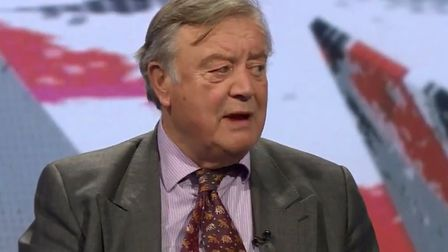 Ken Clarke is back on the television again. Photograph: BBC.