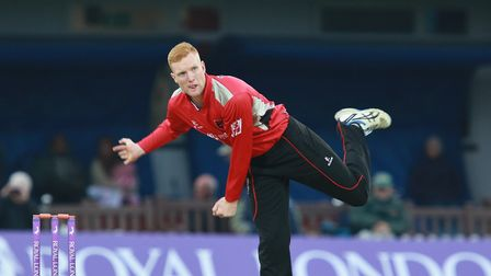 James Sykes in action during his time at Leicestershire. Picture: ED MELIA