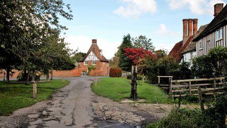 The Green in Foxton is part of the village's conservation area. Picture: Colin Grindley