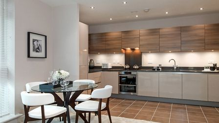 A typical Taylor Wimpey interior, similar to those that will be seen at Beaumont Gardens, St Albans