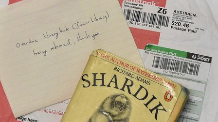 The book which travelled by airmail