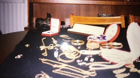 Asian jewellery stolen from a house in Bricket Wood. Picture: Herts Police