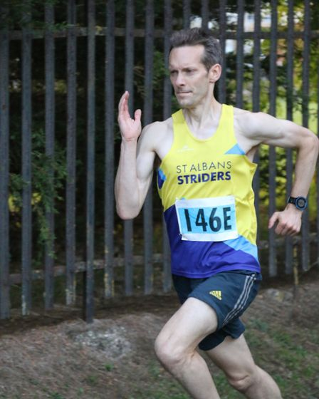 St Albans Striders' Graham Smith ran his 50th parkrun over Christmas. Picture: TONY BARR