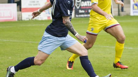 Scott Sinclair is one of the five former St Ives players now in the St Neots squad. Picture: CLAIRE