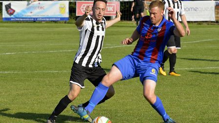 Peter Clark clinched victory for St Ives Town at Kings Langley.