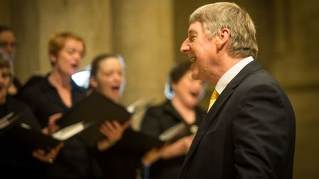 David Temple at St Albans Cathedral. Photo: Debbie Ram Photography.