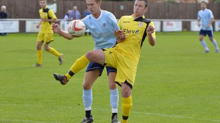 Jack Chandler (left) was wanted by Newmarket Town.