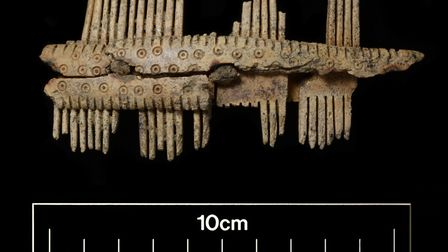 DIG: An Anglo-Saxon comb found at Fenstanton