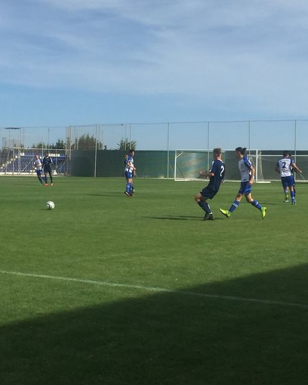 Ben Herd Pro Performance Academy visited Spain for a tour game.