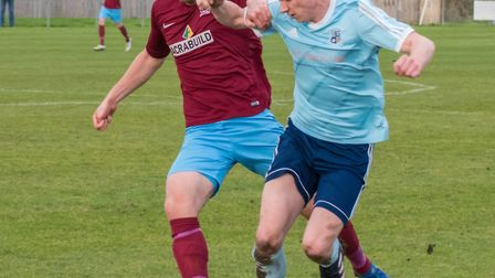 Godmanchester Rovers striker Ben Yeomans scored one goal and made the other as they won at Haverhill