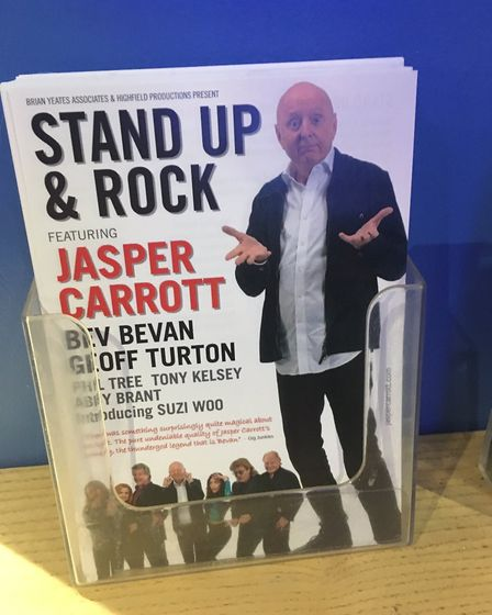 Jasper Carrott has added a second Stand Up and Rock Show date at The Alban Arena in St Albans
