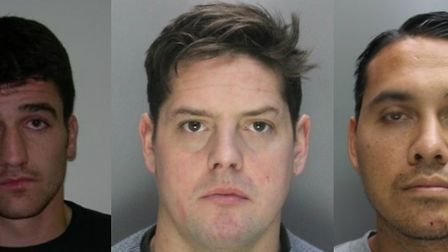 Ricky Crotty, Stephen Girling and Shaun Mansiri have been jailed for a total of more than 25 years.