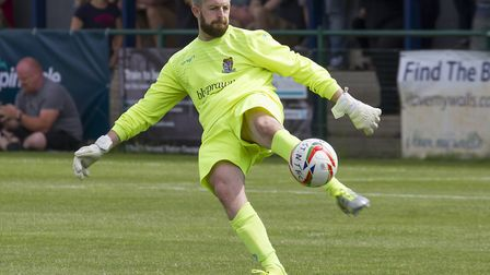 Goalkeeper Mikey Emery has been allowed to leave St Neots Town. Picture: CLAIRE HOWES
