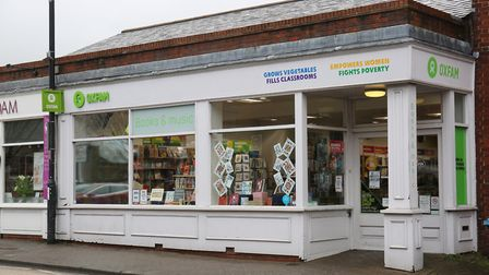 The Oxfam bookshop on Catherine Street. Picture: Danny Loo
