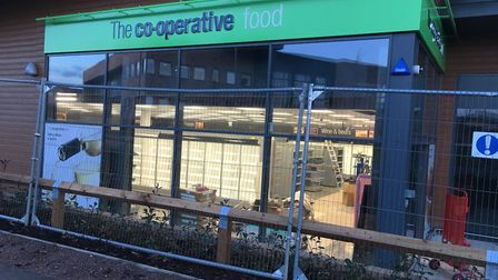 The new Co-operative store in Ermine Street, Godmanchester. Picture: ARCHANT