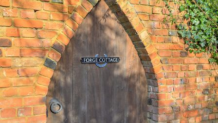 Forge Cottage has plenty of character features