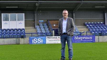 Lee Kearns has stepped down as chairman of St Neots Town.