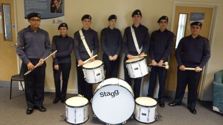 Members of 2500 St Neots Squadron air cadets. Picture: CONTRIBUTED