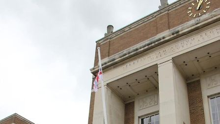 The offices of Hertfordshire County Council.