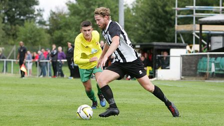 Spencer Clarke-Mardel helped Colney Heath to the final of the Herts Charity Shield. Picture: KARYN H