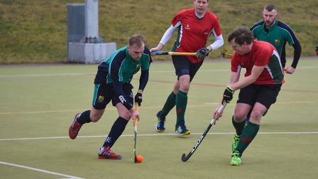James Harris hit a hat-trick as St Ives 1sts beat Norwich Dragons. Picture: J BIGGS PHOTOGRAPHY