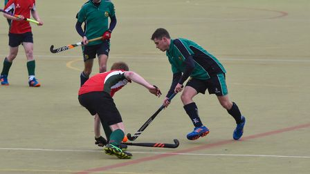 Adam Maltby found the net as St Ives 1sts beat Norwich Dragons. Picture: J BIGGS PHOTOGRAPHY