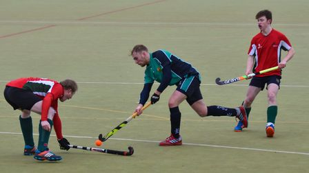 James Harris hit three of the goals to help St Ives 1sts see off Norwich Dragons. Picture: J BIGGS P