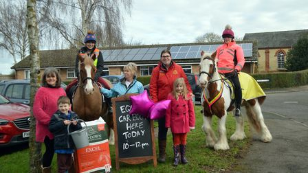 All smiles at the equine boot sale in Litlington. Picture: Sarah Howard