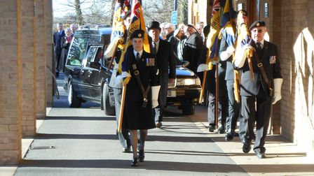 More than 80 people turned up to Mr Goodwin's funeral.