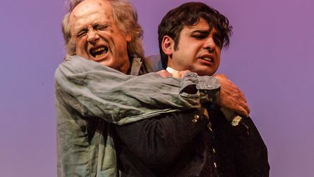Frankenstein dress rehearsal at The Abbey Theatre in St Albans [Picture: Nick Clarke / Abbey Theatre