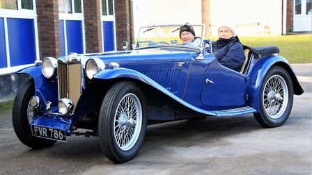 This 1939 MG TB is the pride and joy of Richard and Sue Davies, and has been with them more than 50