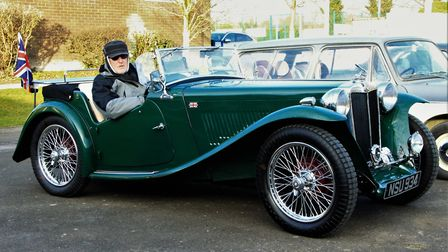 This 1947 MG TC was in such a poor state when Mike Read purchased it, he took seven years painstakin