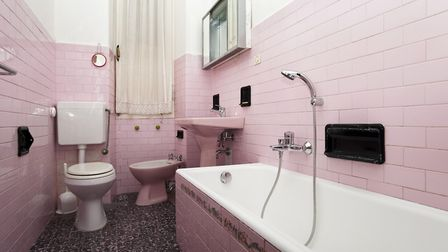 Coloured bathroom suites are a major turn-off for many buyers
