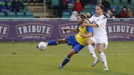 Sam Merson is St Albans City's top scorer. Picture: LEIGH PAGE