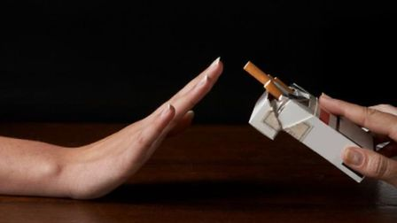 Stop smoking before March 14