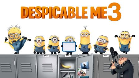 There will be a charity screening of Despicable Me 3 at Harpenden Public Halls