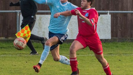 Jack Chandler has struck five times in Godmanchester Rovers' two most recent victories. Picture: J B